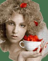 Kaz_Creations Woman Femme Flowers Petals