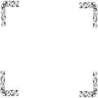 corner frame silver cadre argent