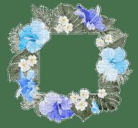 summer ete  flower fleur blumen fleurs blossom frame cadre rahmen tube palm leaf