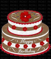 image ink happy birthday cake flowers rose texture color chocolate edited by me