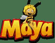 Kaz_Creations Cute Cartoon Love Bees Bee Wasp Text Maya