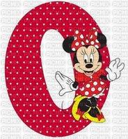 image encre bon anniversaire Minnie Disney  numéro 0 edited by me