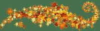 automne leaves deco border