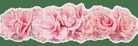 rose crown hair couronne fleur