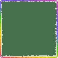 Rainbow frame png