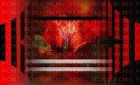 minou-red flower background-fond fleur rouge-sfondo rosso fiore-röd blomma bakgrund