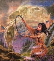 American Indian woman bp