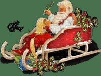 Santa Claus sleigh Christmas_Père Noël traîneau Noël_tube