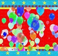 image encre effet néon étoiles ballons bon anniversaire deco edited by me