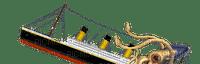 titanic movie ship sea deco