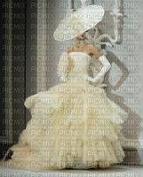 image encre la mariée animé texture mariage femme chapeau robe edited by me