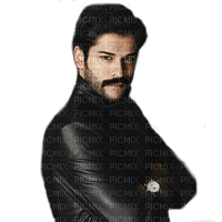 Man Black Burak Turkish Actor  - Bogusia