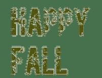 text autumn automne