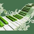 Kaz_Creations Piano Deco