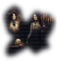 femme,gothique. miroir, Pelageya 3D fille  fashion