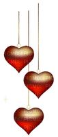 Kaz_Creations Deco Heart Love Hearts Hanging Dangly Things
