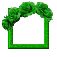 Small Green Frame