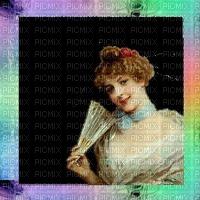 image encre couleur femme vintage charme edited by me