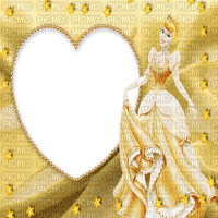 heart gold princess disney cartoon film movie frame cadre fantasy  fond background tube image