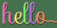 Kaz_Creations Logo Text Hello