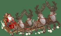 santa sleigh pere noel traineau