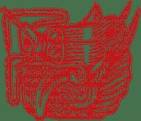 asian dragon emblem