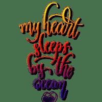 heart ocean sleeps sleep quote text dolceluna