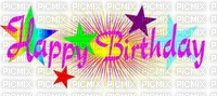 multicolored image encre color efect stars happy birthday edited by me