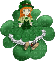St.Patricks Day  tube  person fille