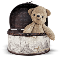 teddy bear deco tube toy sweet