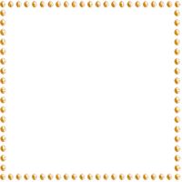 Deco Pearl Frame~Orange©Esme4eva