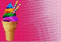 image encre color crème glacée bon anniversaire edited by me