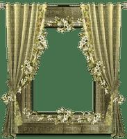 Kaz_Creations  Curtain Frame   Deco