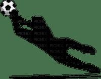 soccer football silhouette