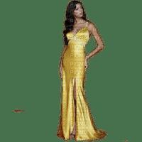 kvinna gul