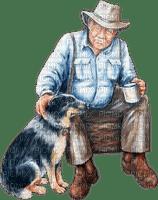 vieil homme et chien-Danna1