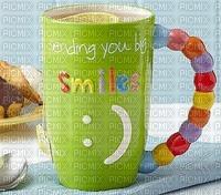 tasse sourires art