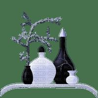 vase  noir et blanc