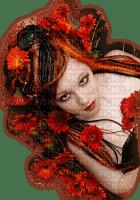 femme deco fond autumn automne
