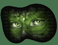 cecily-masque et yeux verts