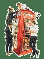 Kaz_Creations Phone Box Man Homme Friends