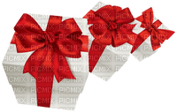 Kaz_Creations Gift Box Birthday Ribbons Bows  Occasion Red