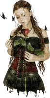 woman gothic femme