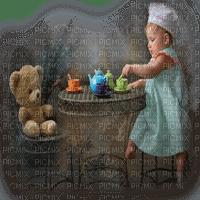 baby girl teaparty bebe fille goûter