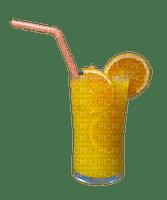 drink summer orange