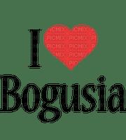 Name Black Red Love - Bogusia