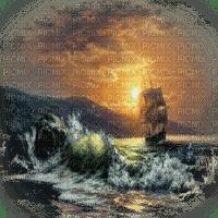 SHIP OCEAN WAVE landscape  paysage bateau mer vague