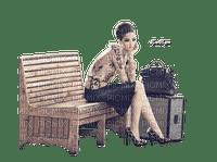 femme,railway station,fashion,fille,visage,deko,tube, Pelageya