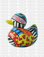 Canard décoré