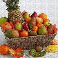 fruit frais panier ananas poire les mangues